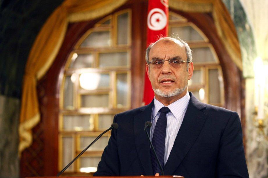 Le premier ministre tunisien démissionnaire Hamadi Jebali.... (PHOTO ZOUBEIR SOUISSI, REUTERS)