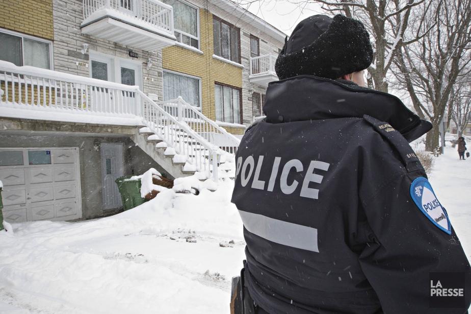 La police de Longueuil et la Sûreté du... (Photo Patrick Sanfaçon, La Presse)