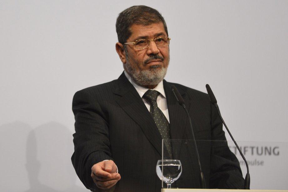 Le président égyptien Mohammed Morsi... (PHOTO ODD ANDERSEN, ARCHIVES AFP)