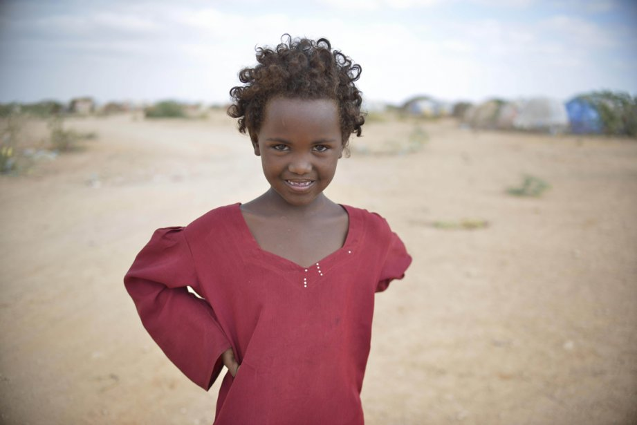 Une jeune déplacée au camp de Belet Weyne, en Somalie. | 21 février 2013