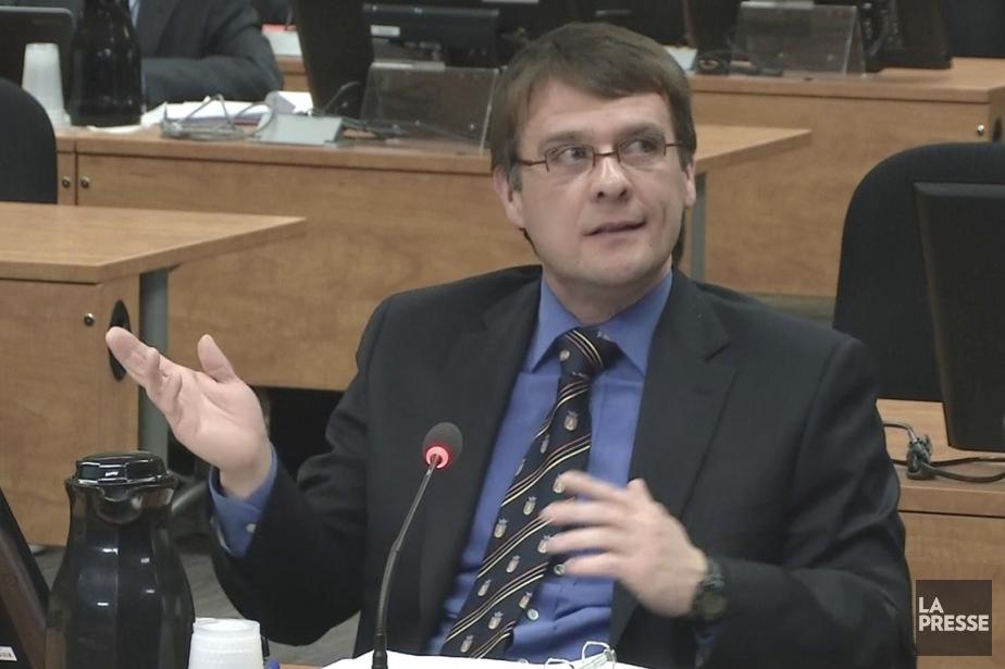 L'enquêteur Guy Desrosiers a indiqué que le vérificateur... (Photo tirée d'une vidéo, La Presse)
