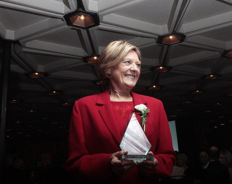 Marlene Catterall, lauréate du laurier de la Francophile de l'année. | 21 février 2013