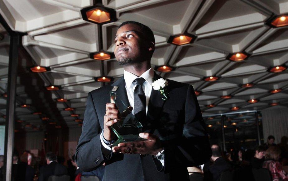 Le gagnant du Prix Jeunesse de l'année, Patrick Twagirayezu. | 21 février 2013