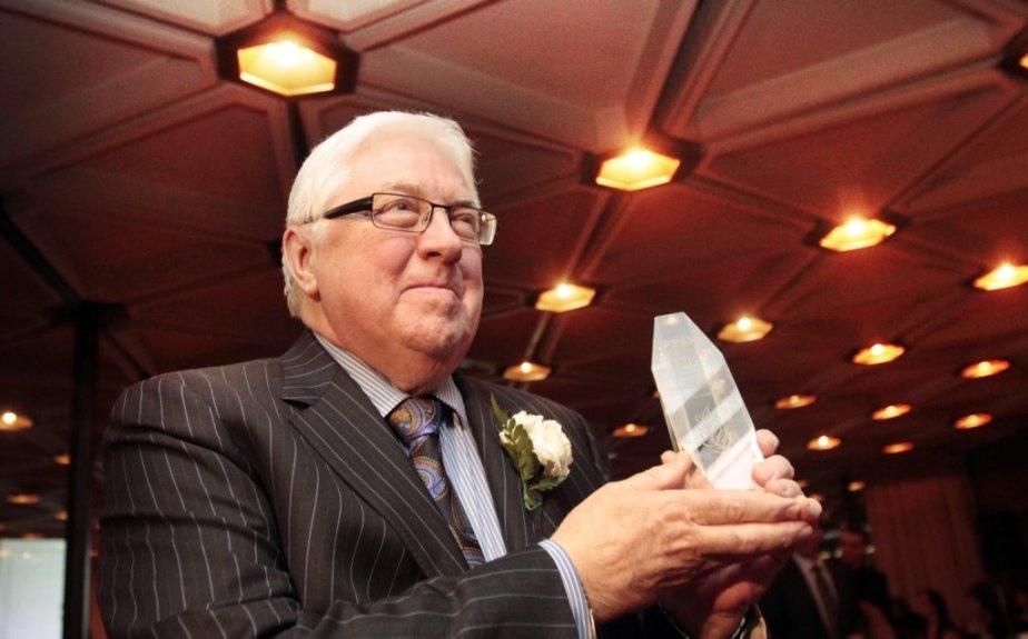 Claude Gingras, le gagnant du Prix Bernard Grandmaître | 21 février 2013