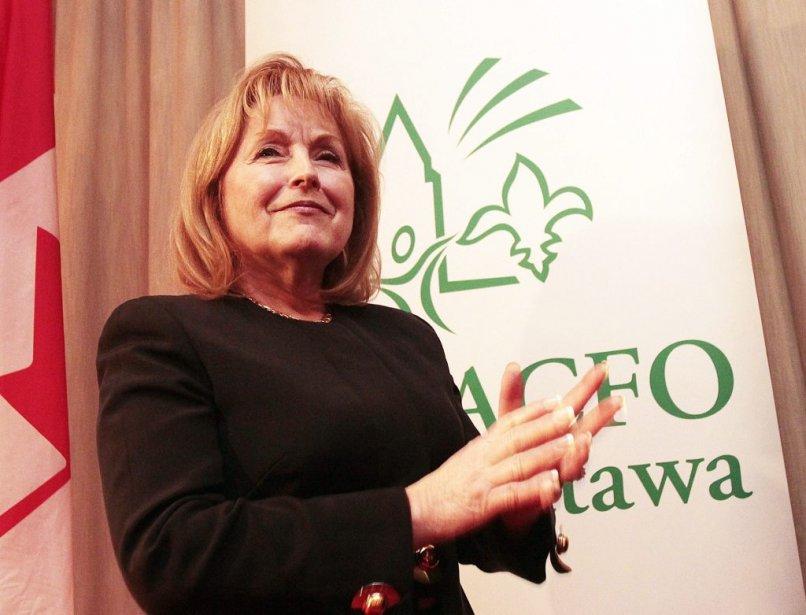 Madeleine Meilleur, ministre déléguée aux Affaires francophones. | 22 février 2013