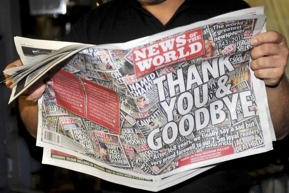 Plus gros tirage de la presse britannique, le... (PHOTO IAN NICHOLSON, ARCHIVES REUTERS)