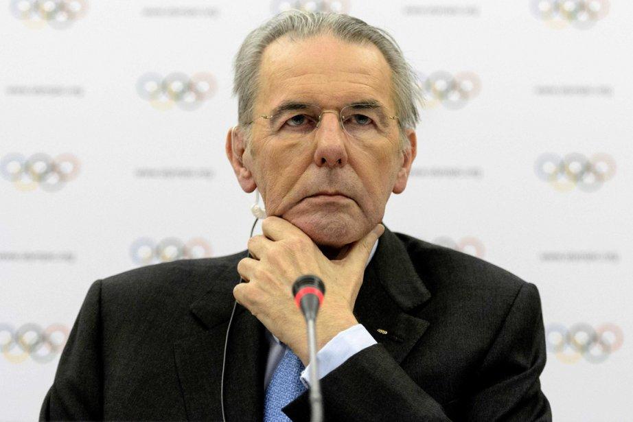 Le président du Comité international olympique, Jacques Rogge.... (Photo Laurent Gillieron, archives AP)