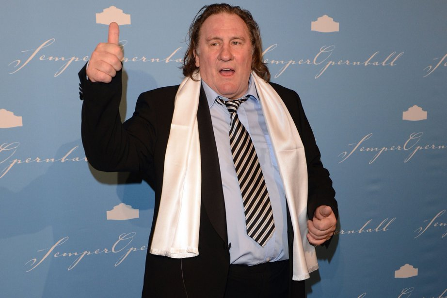 Gérard Depardieu... (Photo: archives AFP)