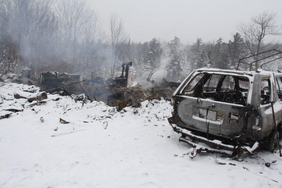 Incendie à Bolton-Ouest: un homme gravement brûlé | 22 février 2013