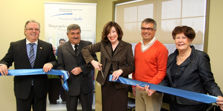 Inauguration du CLSC à Bromont | 22 février 2013