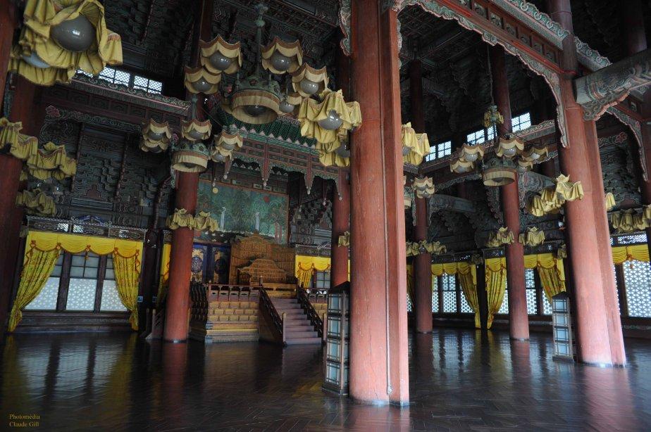 Une visite au palais de Changdeokgung. Séoul (Photo: Claude Gill)
