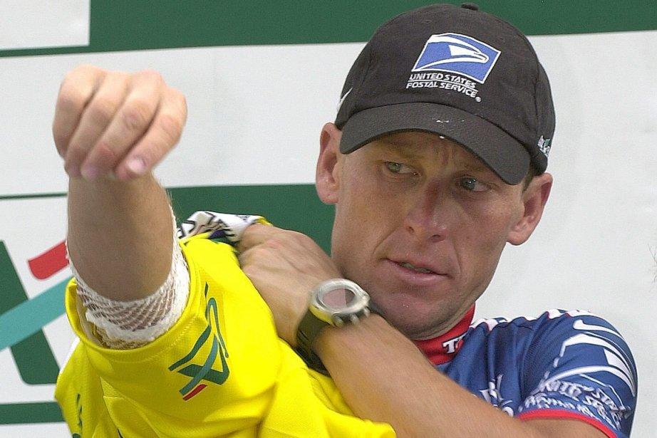 Lance Armstrong se trouve entraîné dans un processus... (Photo Patrick Gardin, AP)