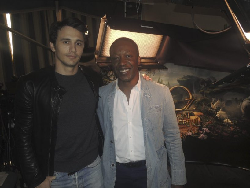 James Franco, le nouveau magicien d'Oz. (Photo: Herby Moreau, La Presse)
