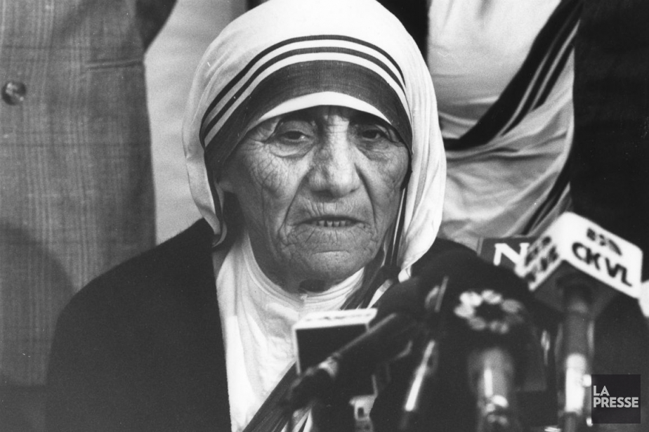 Mère Teresa, en 1988.... (Photo Armand Trottier, archives La Presse)