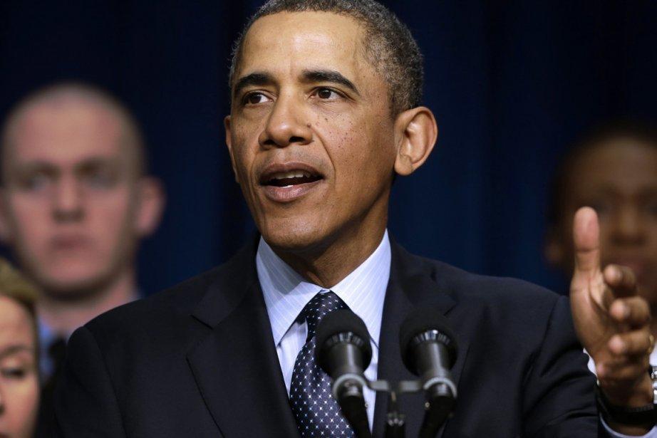 Barack Obama, qui a fait abolir en 2011... (PHOTO CHARLES DHARAPAK, AP)