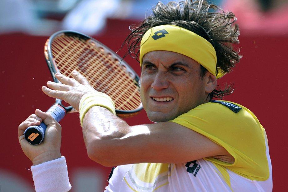 David Ferrer... (Photo : Alejandro Pagni, AFP)