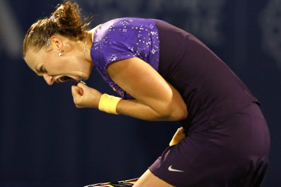 Petra Kvitova... (Photo : Mohammed Salem, Reuters)