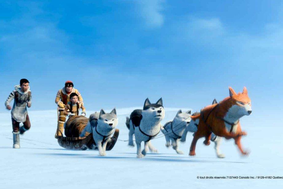 Une image tirée du film d'animation La légende... (PHOTO FOURNIE PAR LES FILMS SÉVILLE)