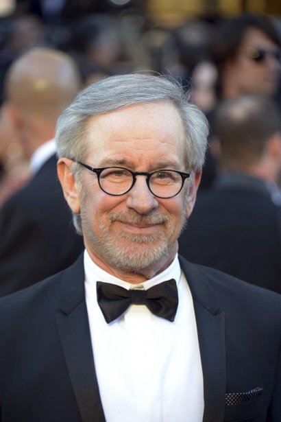 Steven Spielberg aux Oscars... (Photo: AFP)