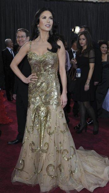 L'actrice Catherine Zeta-Jones | 24 février 2013