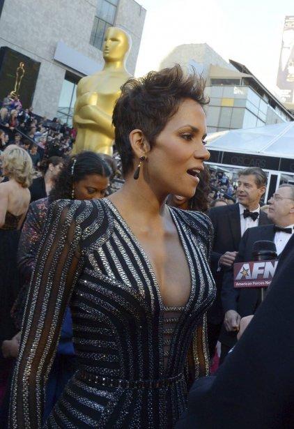 L'actrice Halle Berry | 24 février 2013