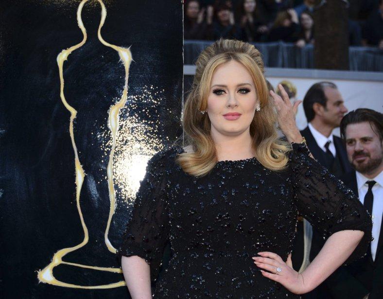 La chanteuse britannique Adele | 24 février 2013