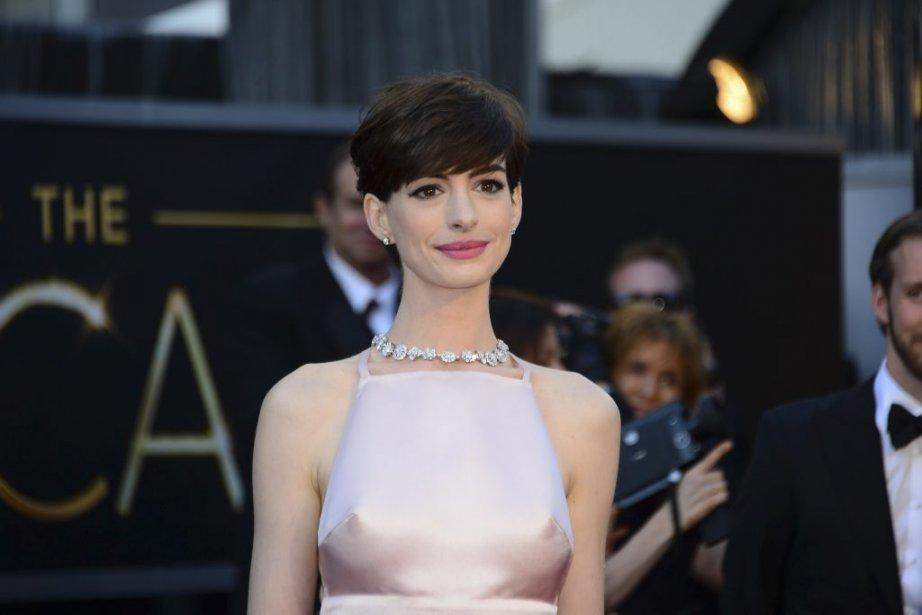 L'actrice Anne Hathaway | 24 février 2013