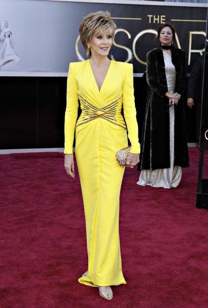 L'actrice Jane Fonda | 24 février 2013