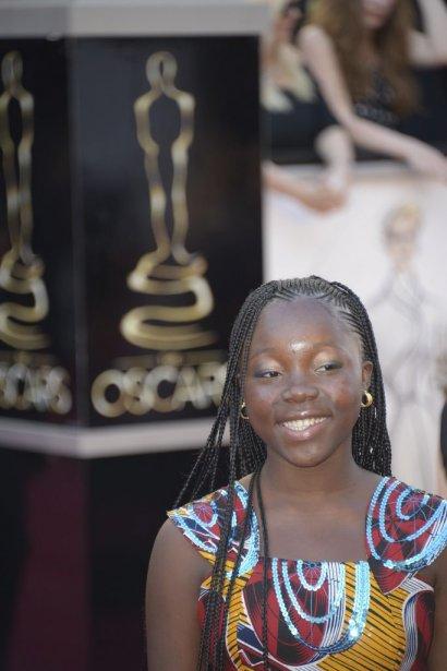 Rachel Mwanza, actrice du film «Rebelle». | 24 février 2013