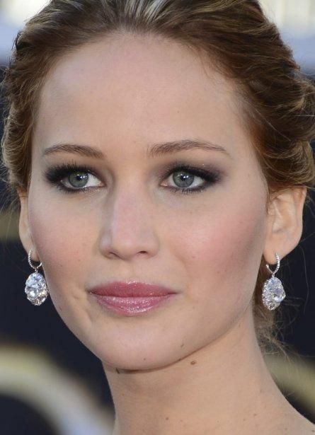 L'actrice Jennifer Lawrence | 24 février 2013