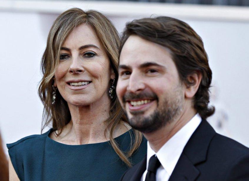 La réalisatrice Kathryn Bigelow et le scénarise Mark Boal, en... | 2013-02-24 00:00:00.000