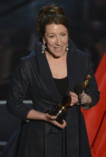 Jacqueline Durran a remporté l'Oscar pour les costumes pour Anna Karenina. | 24 février 2013