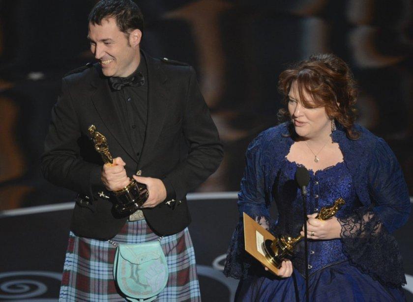 Mark Andrews wr Brenda Chapman ont reçu l'Oscar du meilleur film d'animation. | 24 février 2013