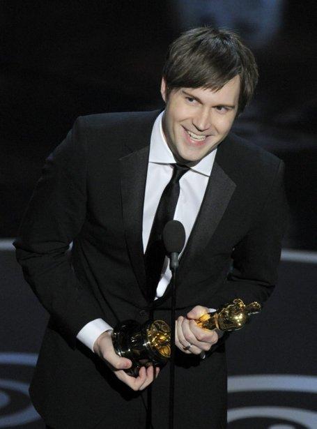 Le réalisateur Shawn Christensen a reçu l'Oscar du meilleur court métrage pour «Curfew» | 24 février 2013