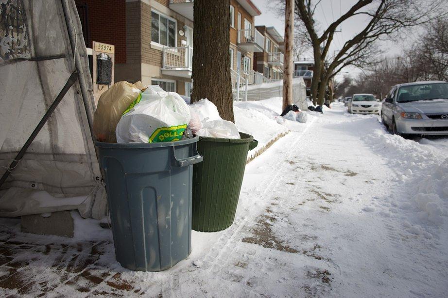 Depuis octobre, les camions à déchets ne passent... (Photo: André Pichette, La Presse)