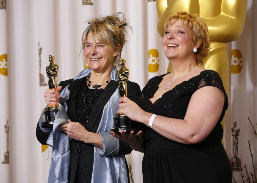 Julie Dartnell etLisa Westcott, Oscar du meilleur maquillage et des meilleures coiffures pour Les Miserables. | 25 février 2013