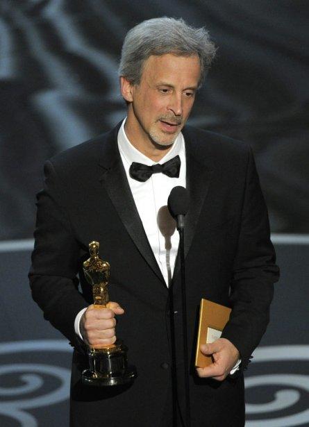 William Goldenberg, récipiendaire de l'Oscar du meilleur montage pour Argo. | 25 février 2013