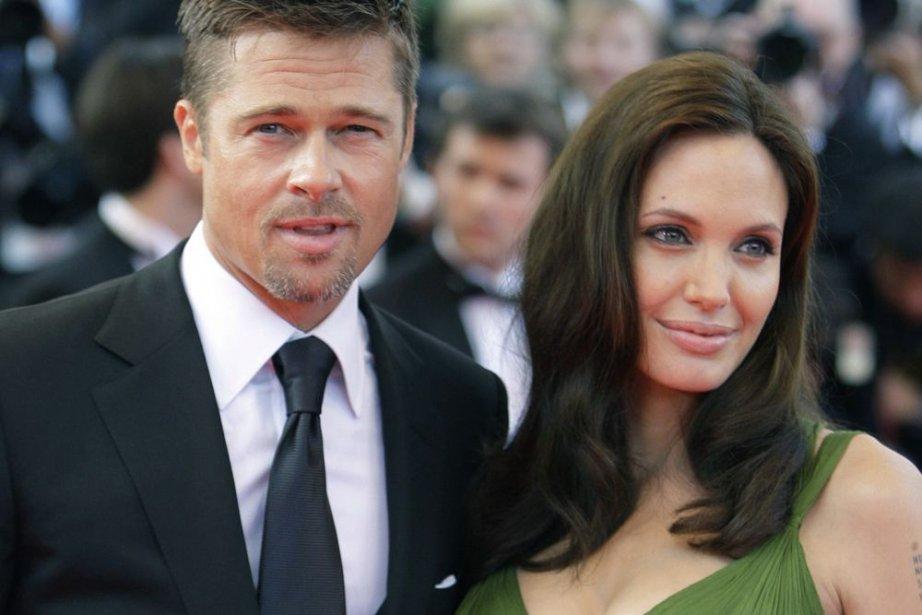 Angelina Jolie et Brad Pitt à Deauville.... (Photo: archives AP)