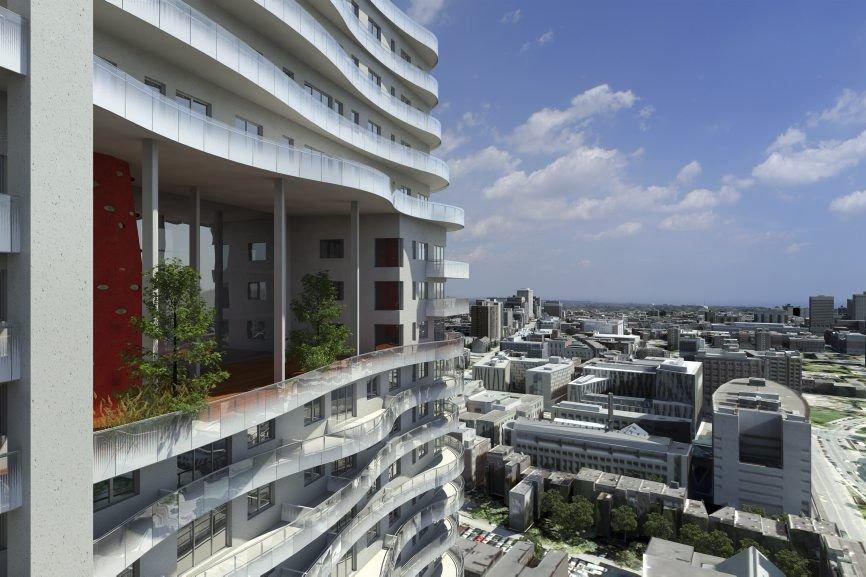 Les occupants des deux immeubles qui devraient être... (Photo fournie par le groupe Benvenuto.)