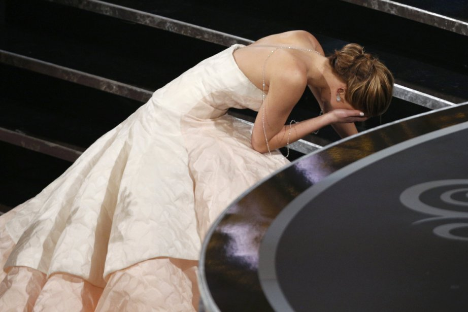 Jennifer Lawrence est passée du rêve au cauchemar... (Photo: Reuters)