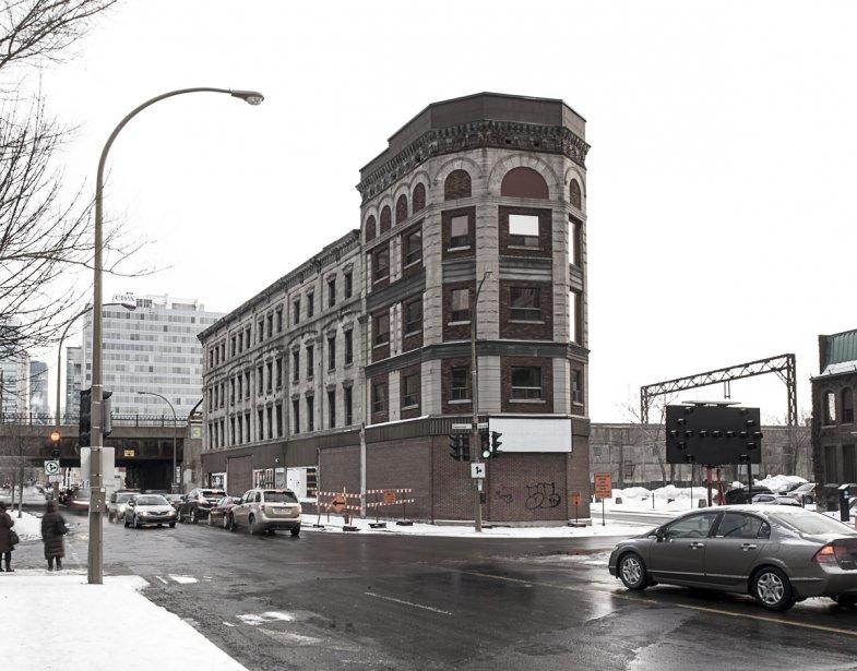 Édifice Rodier : 932, rue Notre-Dame Ouest (Photo: fournie par Héritage Montréal)