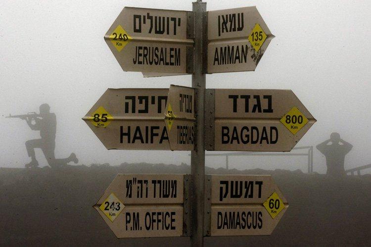 Israël a conquis le plateau du Golan des... (Photo: AFP)