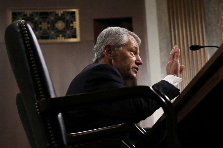 Chuck Hagel, confirmé mardi par le Sénat à la tête du... (Photo: Reuters)