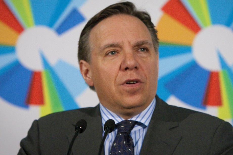 François Legault, chef de la CAQ.... (Photothèque La Presse)