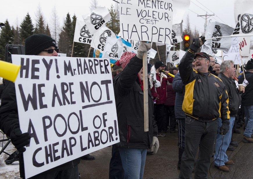 Les travailleurs qui contribuent à l'assurance-emploi ressentent directement... (Photo Jacques Boissinot, La Presse Canadienne)
