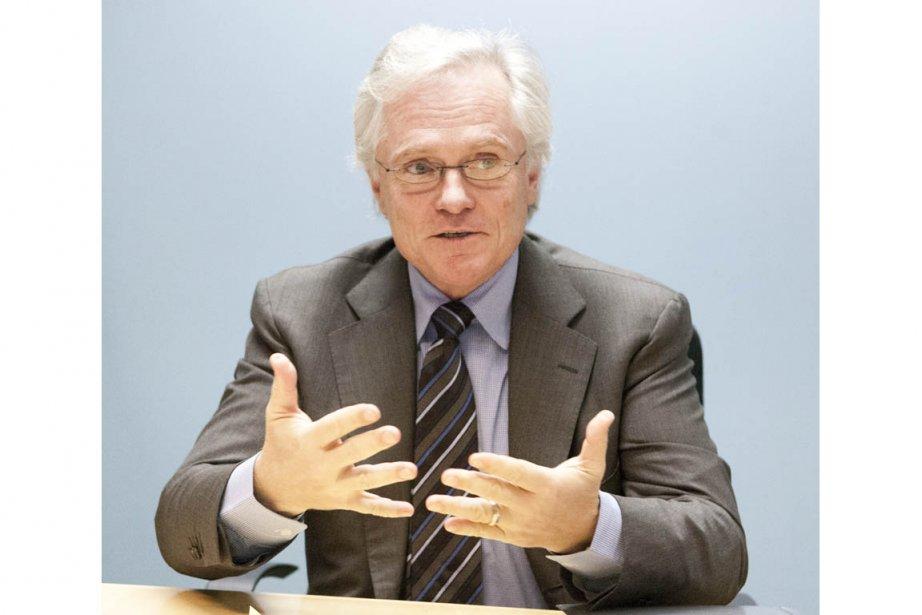 Michael Binnion, président par intérim de l'Association pétrolière... (Photo Ninon Pednault, La Presse)
