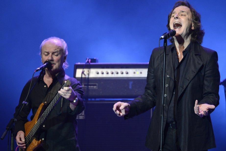 Le chanteur Colin Blunstone et son groupe les... (Photo: Bernard Brault, La Presse)