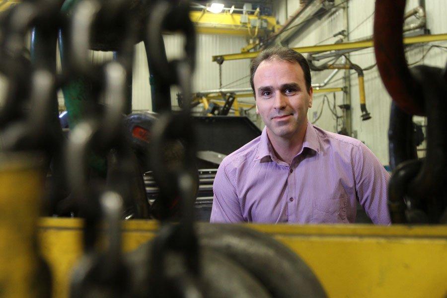 Philippe Dufresne, principal actionnaire de Mecan-Hydro.... (PHOTO STÉPHANE CHAMPAGNE, COLLABORATION SPÉCIALE)