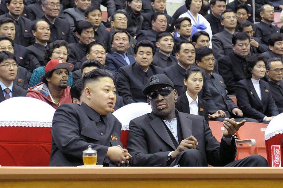 Le dirigeant de la Corée du Nord Kim... (PHOTO AGENCE FRANCE-PRESSE)