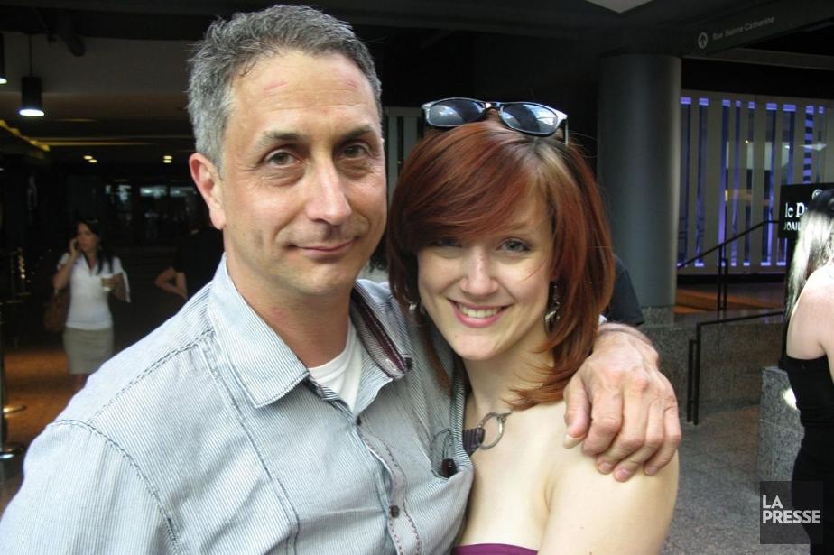 Stéphane Archambault et sa fille Jessica.... (Photo La Presse)
